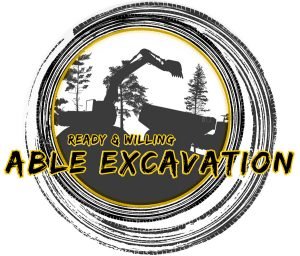 Abel Excavation Logo