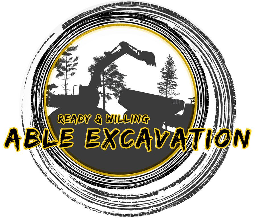 Abel Excavation Logo