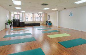 Colorado Yoga House store interior yoga mats