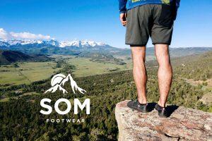Trailhead shoes on an adventure